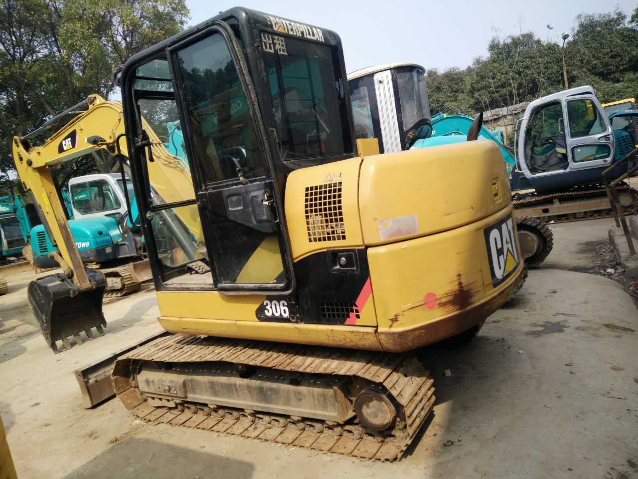 Used Caterpillar 306 Excavator