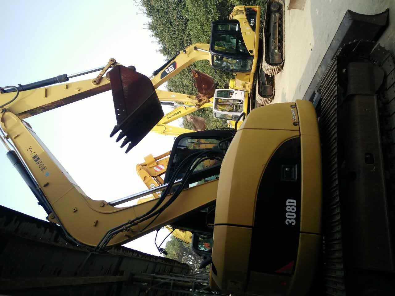 Used Caterpillar 308D Excavator