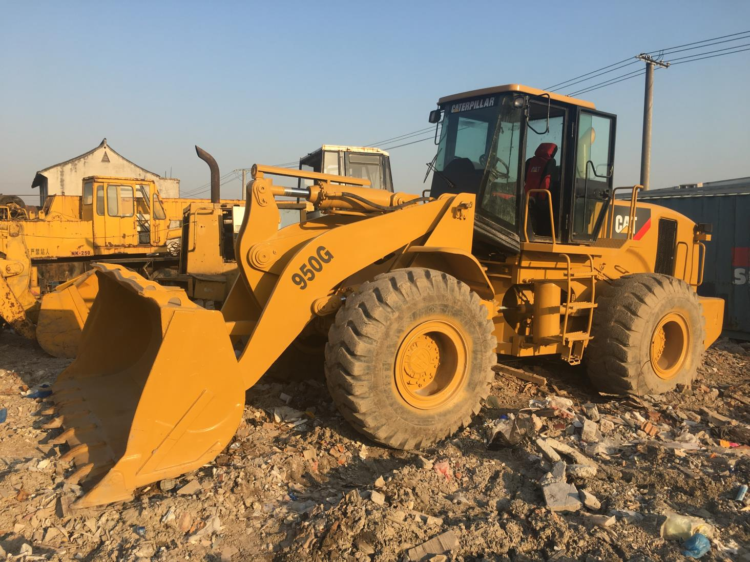 Used Caterpillar 950G Loader