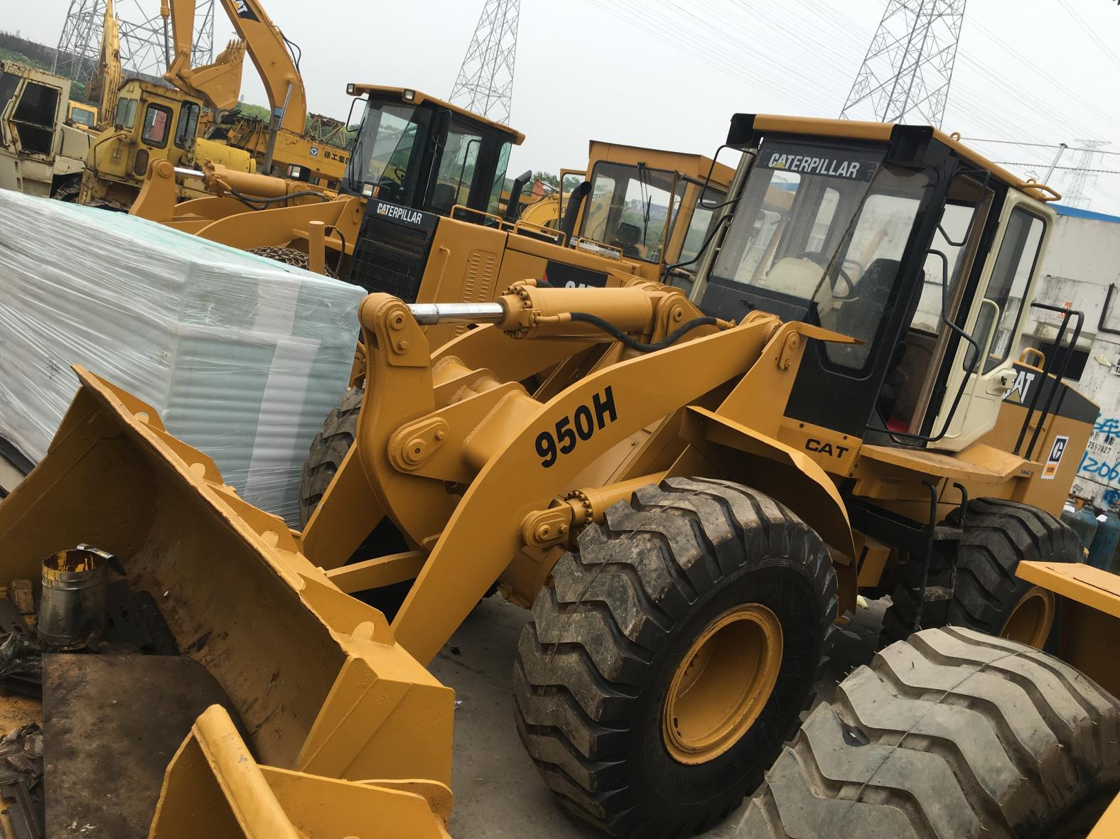 Used Caterpillar 950H Loader